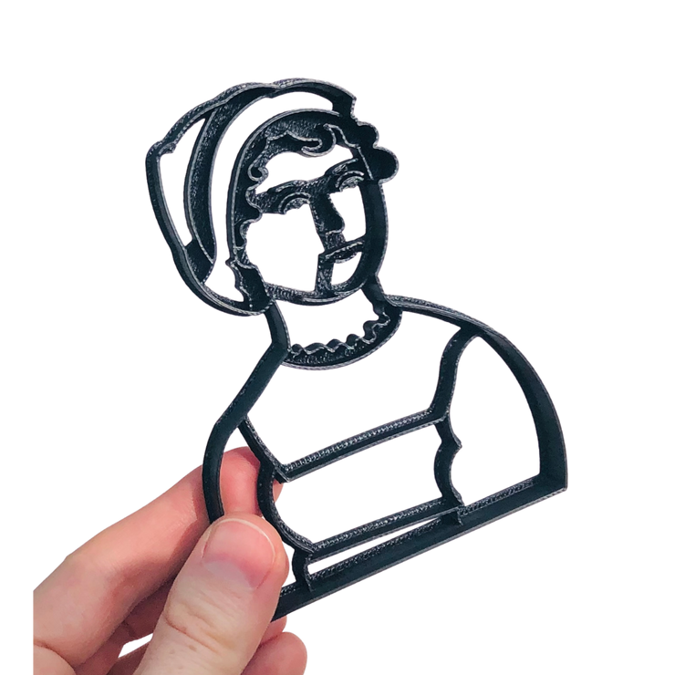 Jane Austen Portrait Cookie Cutter