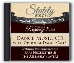 """Regency Era"" Music CD with Dance Calls - English Country Dancing"