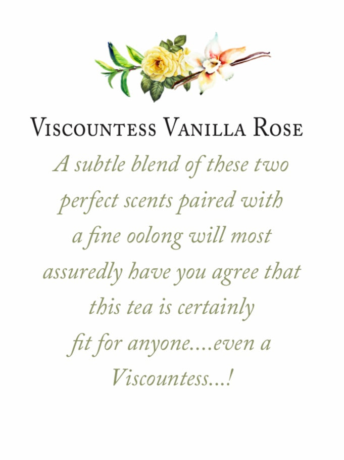 Viscountess Vanilla Rose Tea