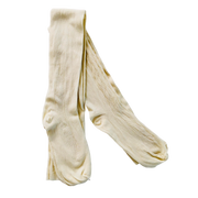 Regency Clocked Silk Stockings ~ Cream