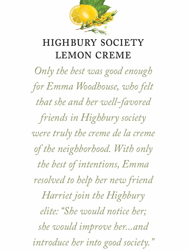 Highbury Society Lemon Creme Tea