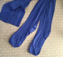 Regency Clocked Silk Stockings ~ Hyacinth