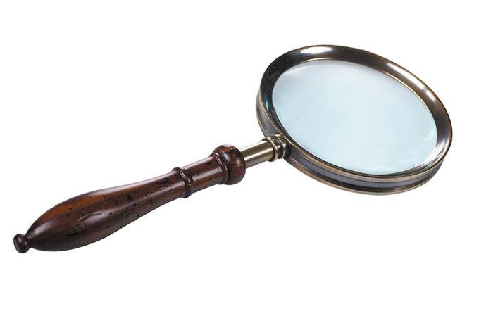 Mr. Bennet's Library Magnifying Glass