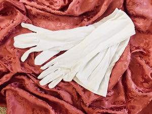 White Regency Ball Gloves