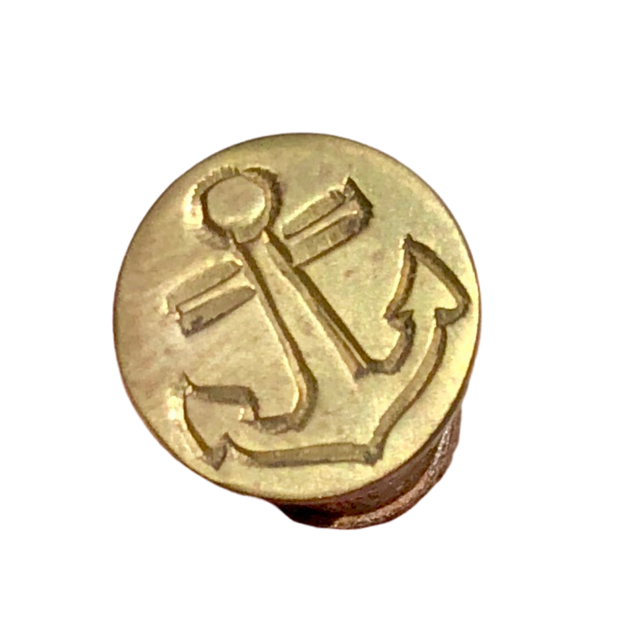 Captain Wentworth's Anchor Wax Seal Stamp