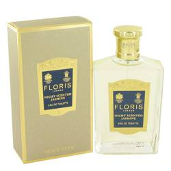 Floris Night Scented Jasmine Eau de Toilette, 3.4oz
