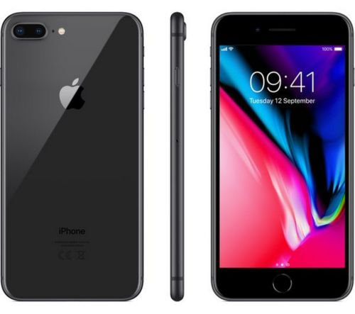 Apple iPhone 8 Plus 64GB A1864 MQ9D2LL/A Space Gray  Sprint or Boost Mobile