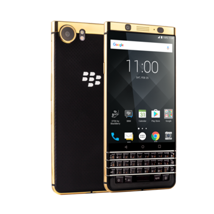 BLACKBERRY KEYONE 64 GB SPECIAL EDITION GOLD PLATED 4.5 INCH SCREEN