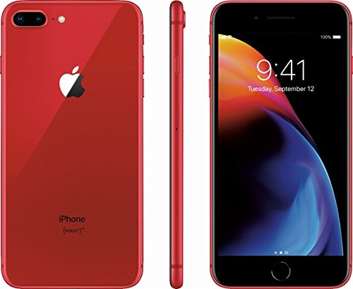 Apple iPhone 8 Plus 64GB Red (special edition Product RED) A1897 - Factory Unlocked - GSM ONLY, NO CDMA