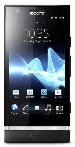 Unlocked Phone Sony Xperia P LT22i-BK  with 8 MP Camera, Android 2.3 OS, Dual-Core Processor, and 4-Inch Touchscreen--U.S.Warranty (Black)