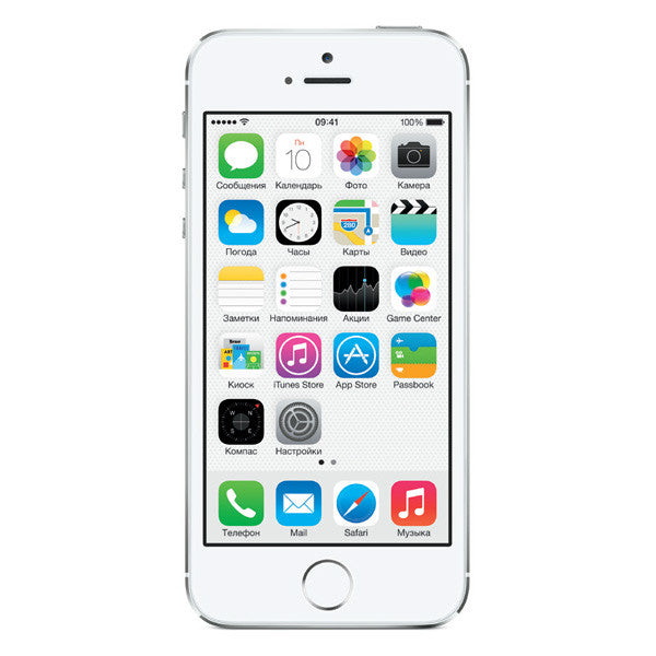 Reconditioned by seller Apple iPhone 5s 32GB ME309LLA White/Silver AT&T Warranty 90 days