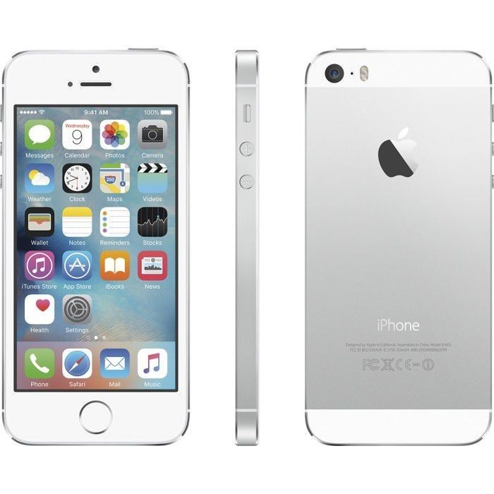 Used Apple iPhone 5s 32GB ME309LLA White/Silver AT&T Warranty 90 days
