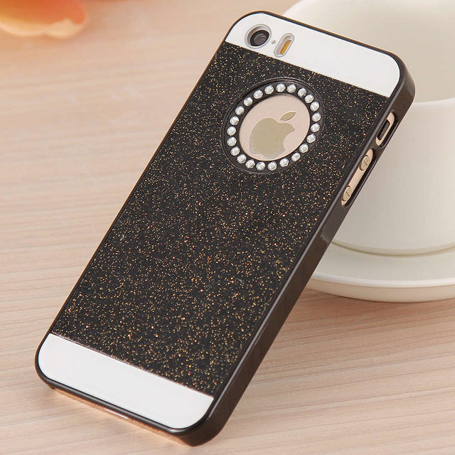 ... Bling Diamond Case Luxury Hard Back Phone Case For iPhone 5S 5 For  iPhone 5 5S 341461454