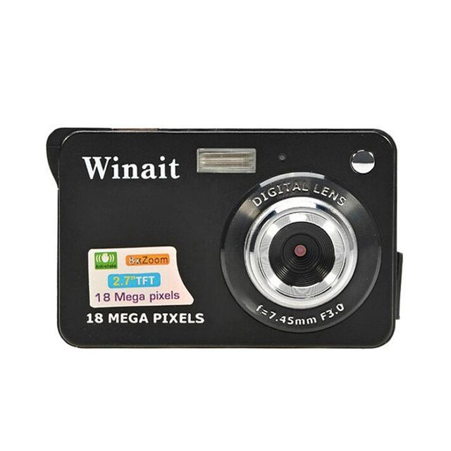 Mini Camera HD 18 Mega Pixels 2.7 Inch Camera TFT LCD Screen 720P Digital Camera