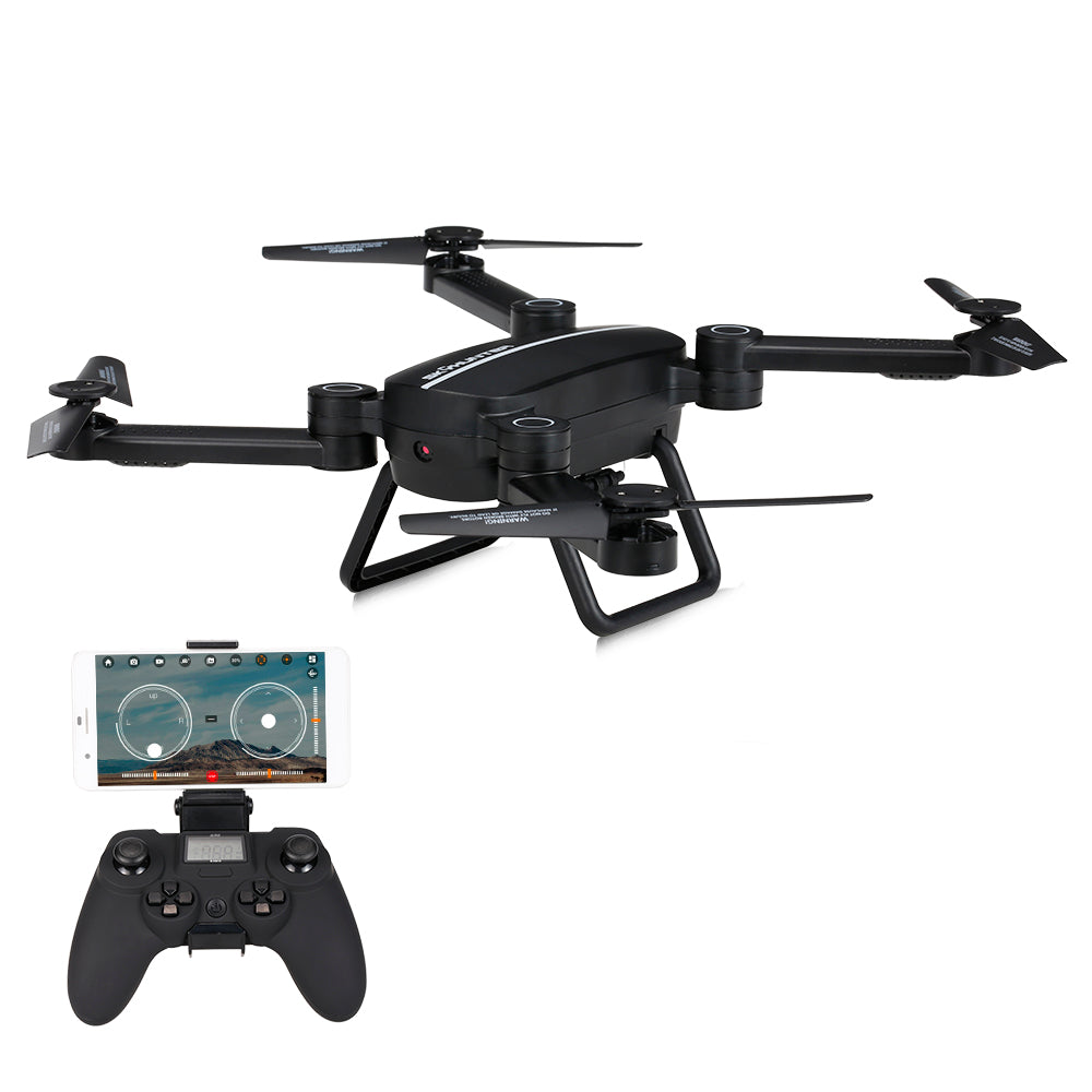 Wifi FPV 0.3MP Drone With Camera Foldable 2.4G 6-Axis Gyro RC Selfie Dron Barometer Height Hold RC Quadcopter RTF