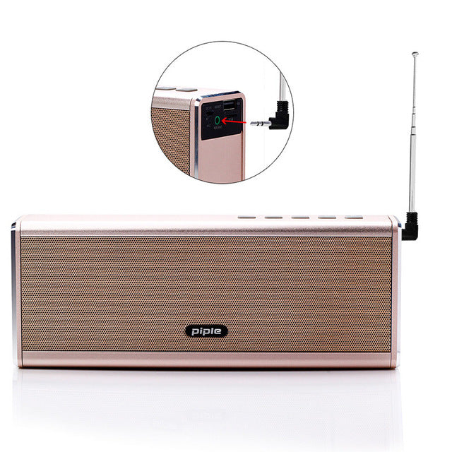 Portable Wireless Bluetooth Speaker 4000Mah 20W Stereo Sound with Microphone Super Bass HIFI for iPhone samsung huawei