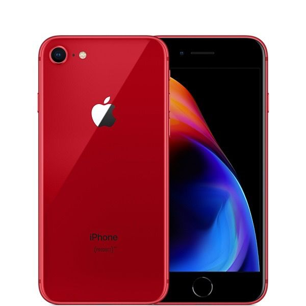 Apple iPhone 8 Plus RED MRT82LL/A 256GB  (Unlocked) A1864 (CDMA + GSM)