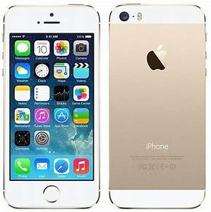 Used Apple iPhone 5s 64GB ME313LL/A  White/Gold AT&T Warranty 90 Days