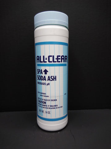 All Clear Spa Soda Ash (Small Bottle)
