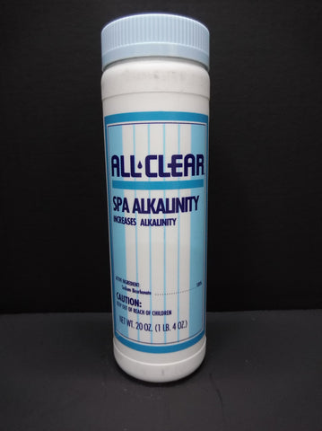 All Clear Spa Alkalinity (Small Bottle)