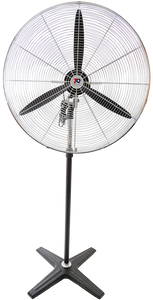 Tradequip 1015 Workshop Fan Pedestal 750mm