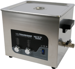 Tradequip 1037T Ultrasonic Parts Cleaner 13 Litre