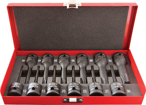 "KC Tools 113400 12 PIECE 1/2"" DRIVE IMPACT STAR SOCKET SET"