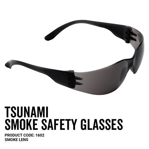 Pro Choice 1602 Tsunami Safety Glasses Smoke Lens