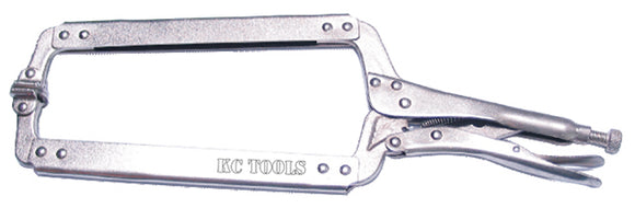 KC Tools AOK 17040 460mm Pliers, Locking, C Clamp Long Reach Flex Head