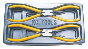 KC Tools 17674 4 PIECE 180MM CIRCLIP PLIER SET