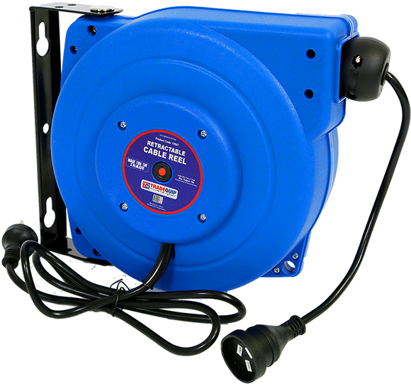 Tradequip 1994T Retractable Cable Reel 15M