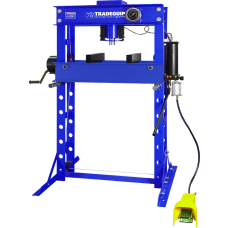 TradeQuip Professional 2038T Air/Hydraulic Press 45,000kg