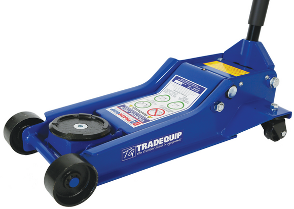 Tradequip 2906T 3,000kg Garage Trolley Jack Steel Low Profile  NOW IN STOCK