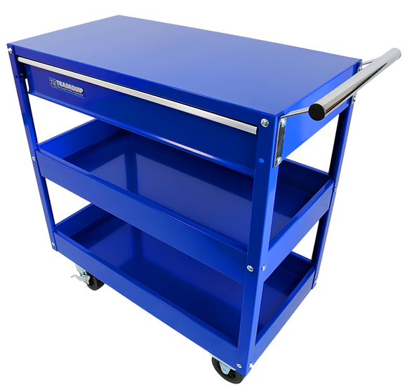 Tradequip 6012T Workshop Tool Trolley 1 Drawer 2 Tray