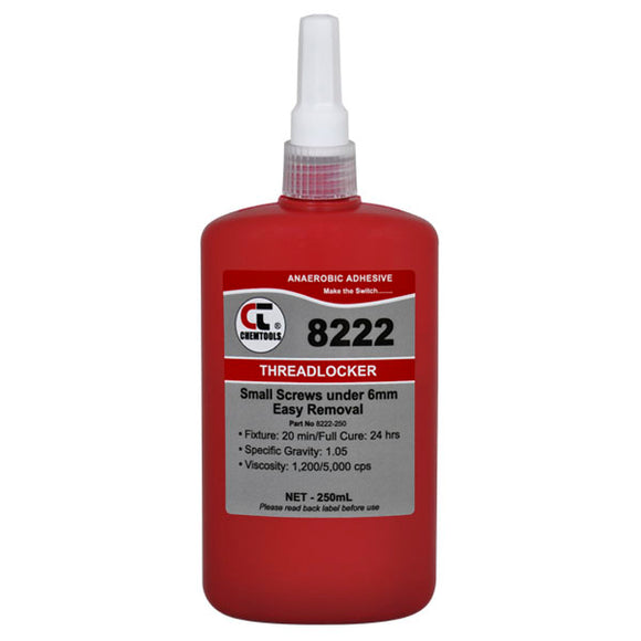 CHEMTOOLS 8222-250 Threadlocker 250ml Low Strength