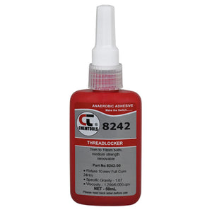 CHEMTOOLS 8242-50 Threadlocker 50ml Medium Strength