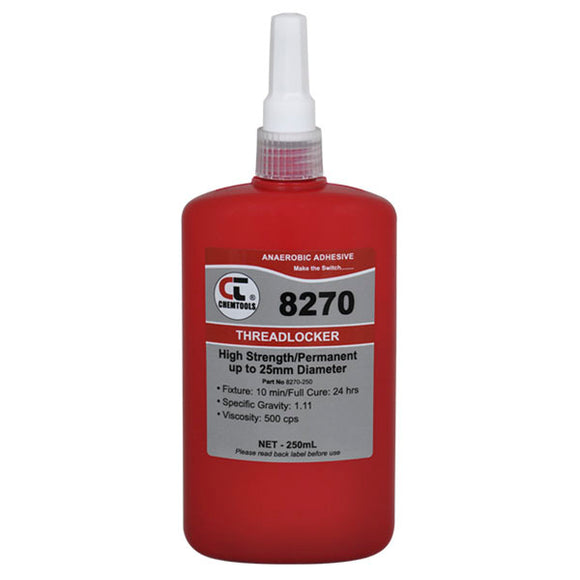 CHEMTOOLS 8270-250 Threadlocker 250ml Low Viscosity