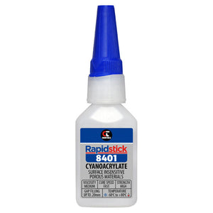 Chemtools CT-8401-20 Cyanoacrylate Adhesive (Surface Insensitive, Porous Materials) 25ml