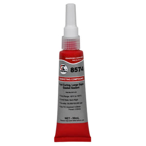 CHEMTOOLS Rapidstick 8574-50 Gasket Sealant (Tight Surfaces, Rigid Bonding) 50ml