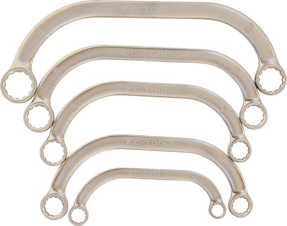 KC Tools A13200 5 PIECE METRIC OBSTRUCTION SPANNER SET