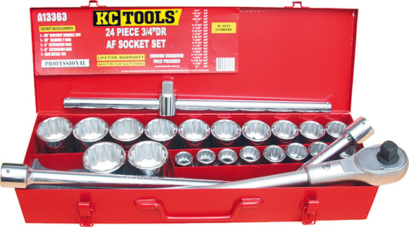 KC Tools A13363 24 PIECE 3/4