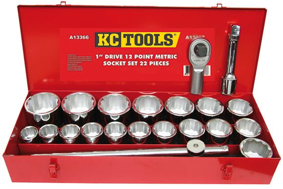 KC Tools A13366 22 PIECE 1