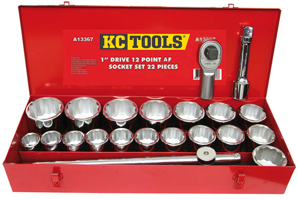 KC Tools A13367 22 PIECE 1