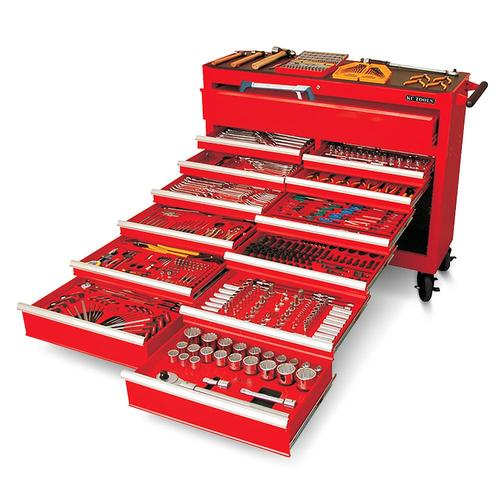 KC TOOLS ATK42BB MEGA 694PC AF/METRIC TOOLKIT IN 13 DRAWER ROLL CABINET