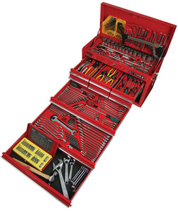 KC TOOLS ATK79BB 262 Piece Metric & AF Tool Kit in, 9 Drawer Tool Box
