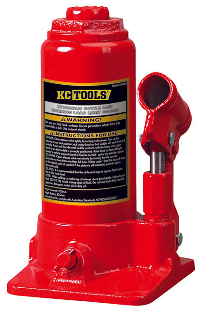 KC Tools BJ6000 6 TONNE BOTTLE JACK