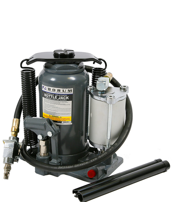 Borum BTSJ20TB 20,000kg Bottle Jack Air/Manual