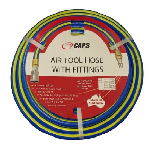 CAPS C28722 10mm x 30m Multiflex Air Hose With Nitto Type Fittings