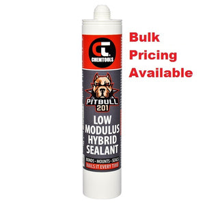 Chemtools CT-HBS201BK-300ML Rapidstick PITBULL 201 Low Modulus Hybrid Sealant Black 300ml