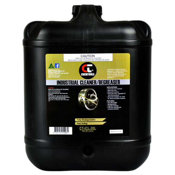 Chemtools CT-ICL-20L Industrial Cleaner & Degreaser 20 Litre